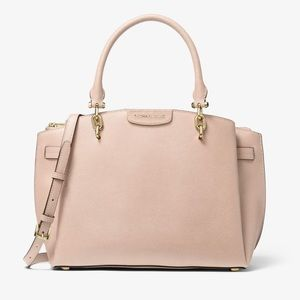 Michael Kors - Rochelle Saffiano Leather Satchel